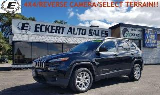 Used 2017 Jeep Cherokee North/4X4/SELECT TERRAIN/REVERSE CAMERA!! for sale in Barrie, ON