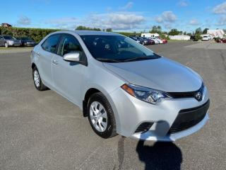 Used 2015 Toyota Corolla Ce ** 20 400 km** for sale in Pintendre, QC