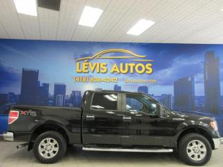 Used 2013 Ford F-150 XLT XTR SUPERCREW 4X4 AIR CLIMATISE BLUE for sale in Lévis, QC