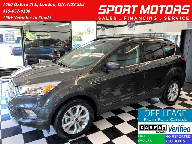 2018 Ford Escape SE+Apple Play+Camera+HTD Seats+ACCIDENT FREE