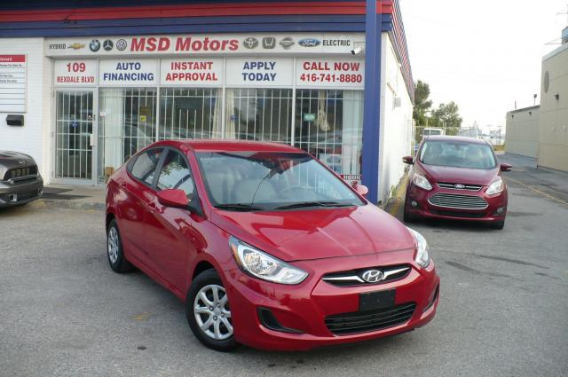 2012 Hyundai Accent GL LOW KM