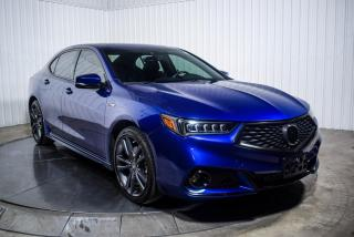 Used 2018 Acura TLX SH AWD A-SPEC CUIR TOIT NAV MAGS for sale in St-Hubert, QC
