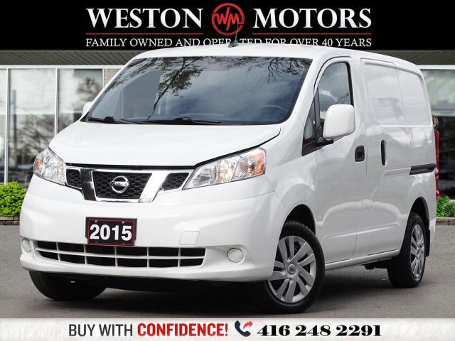 2015 Nissan NV200 NAVI*SIRIUS*BTOOTH*REVCAM*SHELVING*LOCKSMITHS VAN*