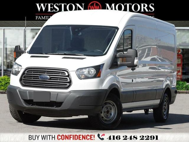 2017 Ford Transit 250 MEDIUM ROOF 3.L7*6CYL FLEX FUEL*REVERSE CAMERA*