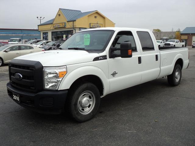 2016 Ford F-250 XL CrewCab 6.7L Diesel 4x2 8ft Box