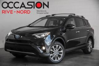 Used 2016 Toyota RAV4 Hybrid Limited NAVI+CUIR+TOIT.OUVRANT for sale in Boisbriand, QC