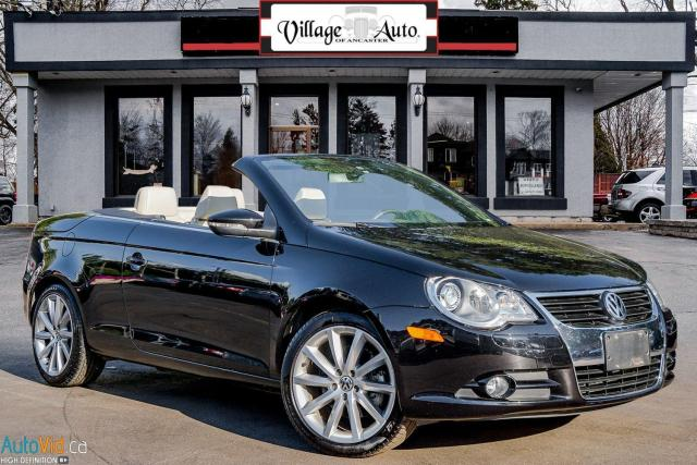 2009 Volkswagen Eos luxury edition