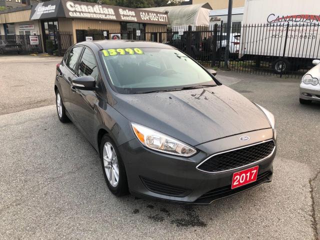 2017 Ford Focus SE  2.0L 160HP 6 SPD AUTO