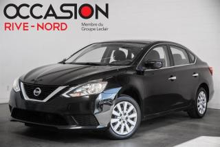 Used 2017 Nissan Sentra SV MAGS+CAM.RECUL+SIEGES.CHAUFFANTS for sale in Boisbriand, QC