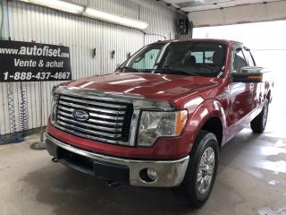 Used 2010 Ford F-150 4WD SuperCab 145  FX4 for sale in St-Raymond, QC