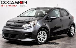 Used 2017 Kia Rio LX+ SIEGES.CHAUFFANTS+BLUETOOTH+A/C for sale in Boisbriand, QC