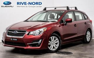 Used 2016 Subaru Impreza Touring MAGS+CAM.RECUL+SIEGES.CHAUFFANTS for sale in Boisbriand, QC