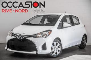 Used 2017 Toyota Yaris LE BLUETOOTH+A/C+GR.ELECTRIQUE for sale in Boisbriand, QC