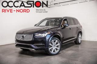 Used 2017 Volvo XC90 AWD T8 Inscription NAVI+CUIR+TOIT.OUVRANT for sale in Boisbriand, QC