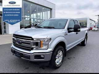 Used 2018 Ford F-150 XLT 4WD SUPERCAB 8' BOX for sale in Victoriaville, QC