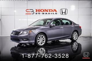 Used 2014 Honda Accord TOURING + V6 + CUIR + TOIT + WOW! for sale in St-Basile-le-Grand, QC