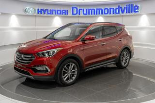 Used 2017 Hyundai Santa Fe Sport LIMITED + GARANTIE + NAVI + TOIT PANO + for sale in Drummondville, QC
