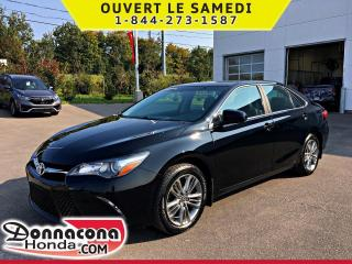 Used 2017 Toyota Camry SE * JAMAIS ACCIDENTE * for sale in Donnacona, QC
