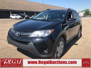 Used 2014 Toyota RAV4 LE 4D Utility AWD 2.5L for sale in Calgary, AB
