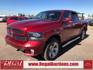 Used 2013 RAM 1500 Sport Crew Cab SWB 4WD 5.7L for sale in Calgary, AB