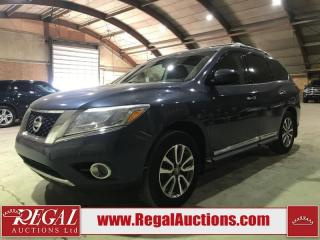 Used 2014 Nissan Pathfinder 4D Utility 4WD for sale in Calgary, AB