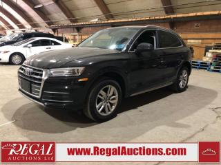 Used 2019 Audi Q5 KOMFORT 4D UTILITY AWD for sale in Calgary, AB