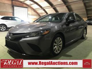 Used 2018 Toyota Camry SE 4D Sedan for sale in Calgary, AB