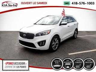 Used 2017 Kia Sorento * SX+* BAS KILO* JAMAIS ACCIDENTÉ* SIEGE for sale in Québec, QC