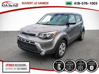 Used 2016 Kia Soul * LX* JAMAIS ACCIDENTÉ* UN SEUL PROPRIO* for sale in Québec, QC