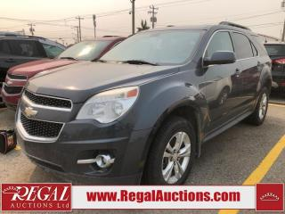 Used 2010 Chevrolet Equinox LT 4D Utility SPORT AWD for sale in Calgary, AB