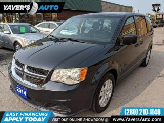 Used 2014 Dodge Grand Caravan SE for sale in Hamilton, ON
