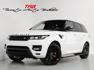 Used 2017 Land Rover Range Rover Sport V8 SC DYNAMIC I NAVI I PANO I 22 INCH WHEELS for sale in Vaughan, ON