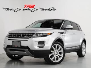 Used 2015 Land Rover Evoque PURE I I NAVI I PANO I CLEAN CARFAX for sale in Vaughan, ON