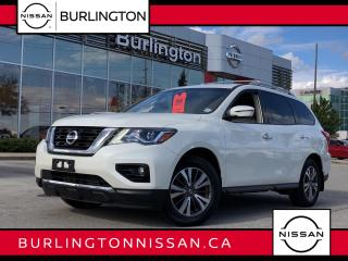 Used 2018 Nissan Pathfinder SL TECH, ACCIDENT FREE, 1 ONR, EXTENDED WARRANTY ! for sale in Burlington, ON