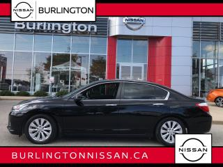 Used 2015 Honda Accord Sedan EX-L, NAVIGATION, LEATHER, MOONROOF, ACCIDENT FREE for sale in Burlington, ON