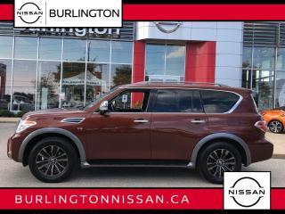 Used 2017 Nissan Armada Platinum Edition for sale in Burlington, ON