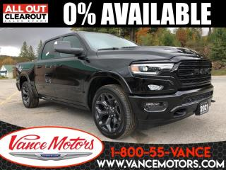 New 2021 RAM 1500 Limited Night Edition 4x4...SPLIT TAILGATE*TONNEAU for sale in Bancroft, ON