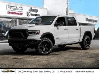 Used 2021 RAM 1500 REBEL | NIGHT EDITION | GET $750 HOLIDAY CASH OFF for sale in Simcoe, ON