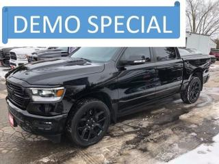 Used 2021 RAM 1500 DEMO l SPORT l RAMBOX l MULTI FUNCTION TAILGATE for sale in New Hamburg, ON