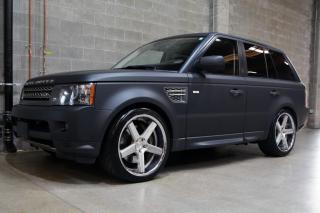 Used 2010 Land Rover Range Rover Sport Supercharged 4WD Matte Black for sale in Vancouver, BC