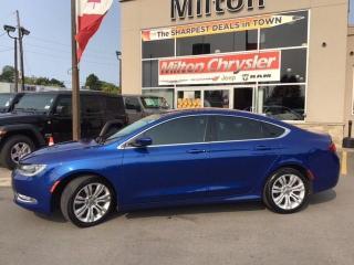 Used 2015 Chrysler 200 LIMITED | NAVIGATION| REMOTE START|BACK UP CAMERA for sale in Milton, ON