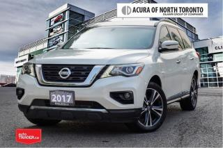 Used 2017 Nissan Pathfinder Platinum V6 4x4 at No Accident| DVD| |Dealer Servi for sale in Thornhill, ON