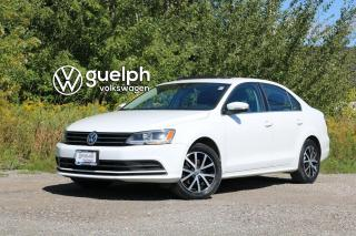 Used 2016 Volkswagen Jetta Comfortline TSI | Heated Seats, Sunroof, Bluetooth & SXM for sale in Guelph, ON
