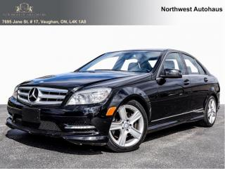 Used 2011 Mercedes-Benz C-Class C 300 LEATHER SUNRIOF AWD LOCAL VEHICLE WITH NO AC for sale in Concord, ON