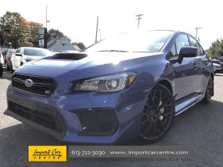 Used 2018 Subaru WRX STI Sport-tech w/Lip LEATHER/SUEDE  ROOF  NAVI  HK SOU for sale in Ottawa, ON