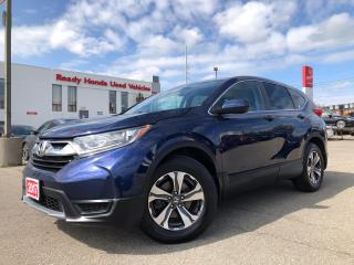 Used 2017 Honda CR-V LX  - Bluetooth - Rear camera - Heated Seats for sale in Mississauga, ON