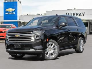 New 2021 Chevrolet Tahoe HIGH COUNTRY for sale in Winnipeg, MB