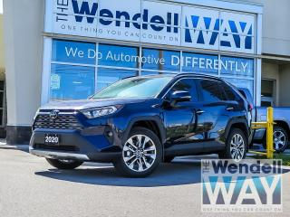 Used 2020 Toyota RAV4 Limited 1 Owner Clean CarFax for sale in Kitchener, ON