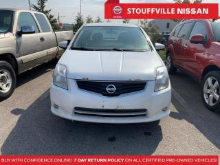 Used 2012 Nissan Sentra 2.0  Clean Carfax  ONE Owner  YOU Certify YOU Save for sale in Stouffville, ON