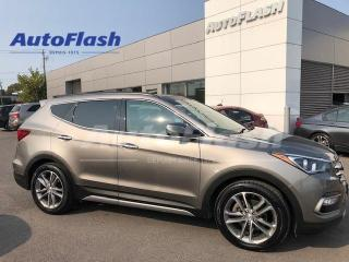 Used 2017 Hyundai Santa Fe Sport 2.0T Limited AWD *Blind-Spot *GPS/Camera *Fullllll for sale in Saint-Hubert, QC